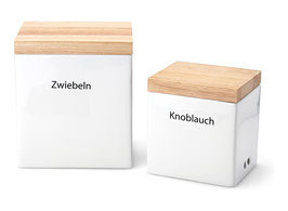 Vorratsdose mit Holzdeckel