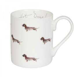 Hot Dogs! Dachshund Tasse  275 ml standart mug