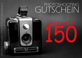 GUTSCHEIN | Wert 150.00 SFr.