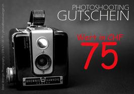 GUTSCHEIN | Wert 75.00 SFr.