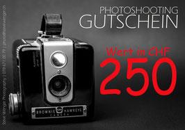GUTSCHEIN | Wert 250.00 SFr.
