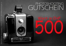 GUTSCHEIN | Wert 500.00 SFr.