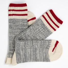 Socken Oceanside Grey, Grösse 39-45