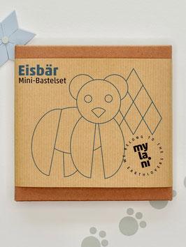 Mini-Bastelset Eisbär