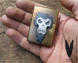 Lighter Bearded Skull
