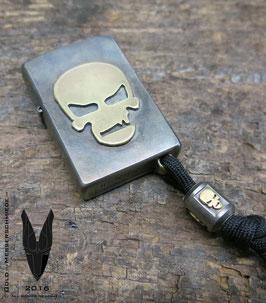 Silver color Lighter Skull