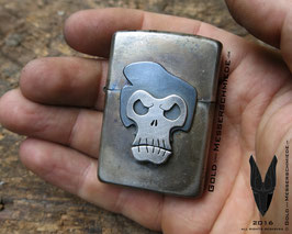 Lighter Rockabilly Skull