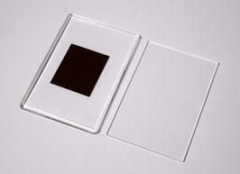5. Заготовка акрилового магнита прямоугольная, разноцветная 80х55мм.
