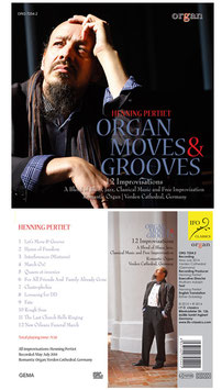 CD Henning Pertiet - Organ Moves & Grooves