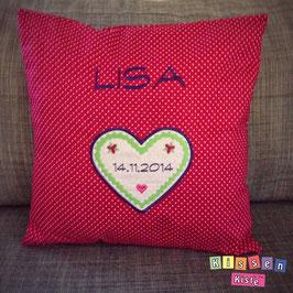Kissen «Lisa Herz»