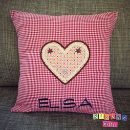 Namenskissen «Elisa»