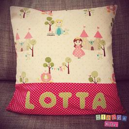 Namenskissen «Lotta»