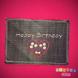 Postkarte «Happy Birthday»