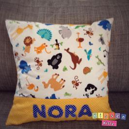 Namenskissen «Nora»