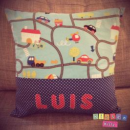 Namenskissen «Luis»
