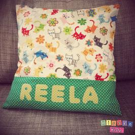 Namenskissen «Reela»