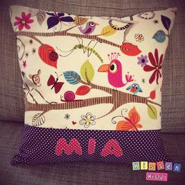 Namenskissen «Mia»