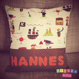 Namenskissen «Hannes»