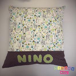Namenskissen «Nino»