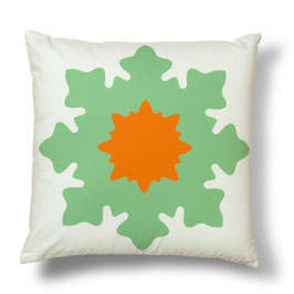 Soft Tiles® #8 throw pillow/coixí