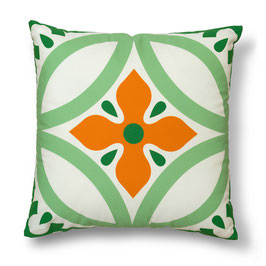 Soft Tiles® #11 throw pillow/coixí