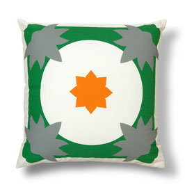 Soft Tiles® #12 throw pillow/coixí