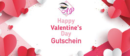 Gutschein, Sujet Valentine