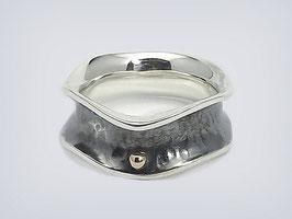 """925er Silber /Gold - Ring """"Sunset"""""""