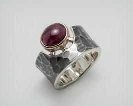 "925 Silber / Gold - Ring ""Cíclope"""