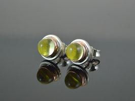 """Ohrstecker """"Lemo """" Lemon Citrin 585 Rotgold, 925er Silber"""