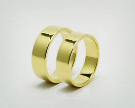 "585er Gold / Partnerringe / Trauringe ""Oro"""