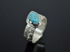 "Unikat Ring 925er Silber ""Türkis "" handgemacht"