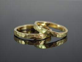 """Partnerringe / Trauringe """" Martello """" 750er Gold"""