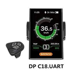 Pantalla LCD DP C18 Bafang para todos sus modelos.