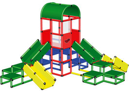 Mega Playtower with Crawlingbridges