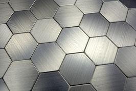 Move Mosaik selbstklebend silber metall h11119