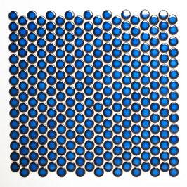 Knopfmosaik kobaltblau h10105 Knopf 451