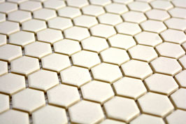 Hexa Mosaik weiß h10269 CU HX020