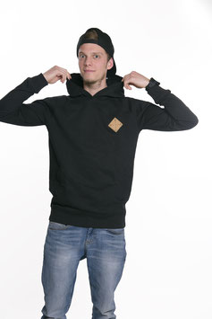 "Hoody ""SNAPPY"" black"