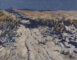 Toskana, Sandweg bei Lorenzana - FINE ART PRINT ORIGINAL - 146 x 114 cm
