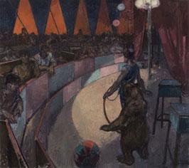 Zirkus - FINE ART PRINT ORIGINAL - 160 x 180 cm