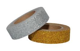 Gold/silber Glitzer