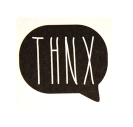 "Sticker ""THNK"" 10 Stk."