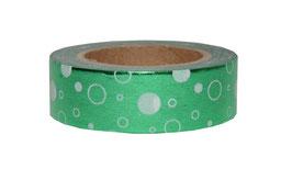 Metallic Kreise grün