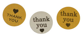 "Stickers ""thank you"""