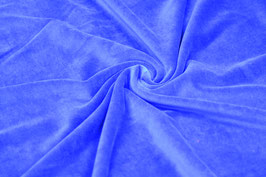 Nickistoff uni Royal Blau