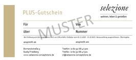 selezione PLUS-Gutschein