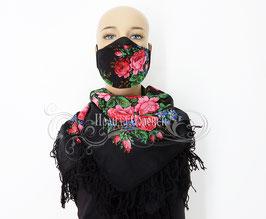 """Авторская многоразовая защитная маска """"Варенька"""""""