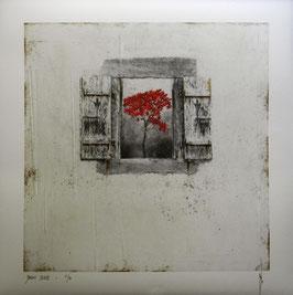 """NUMERIGRAPHIE - Antoine Josse - """"Jardin secret"""" - Réf. 266 - Exemplaire N°5/30 - SANS ENCADREMENT"""