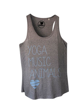 Yoga, Music, Animals - Tank